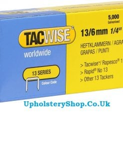 Tacwise 13 series staples