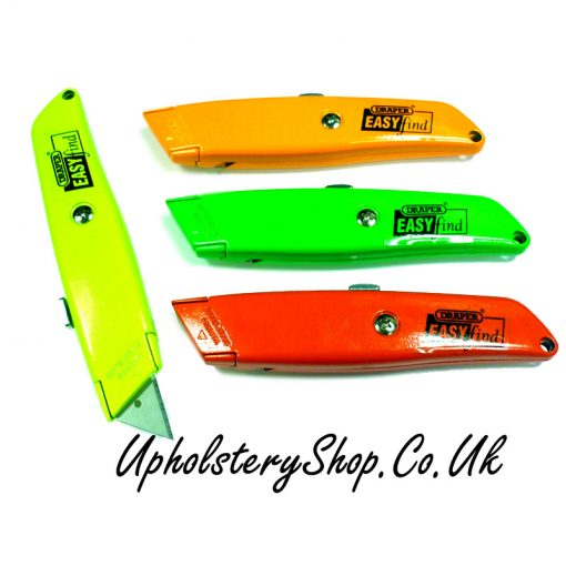 Retracting Knife Easy Find Draper