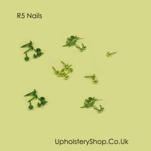 R5 metallic finish nails