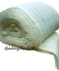 white cotton wadding not fr