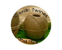 Cords, Twines and Thread