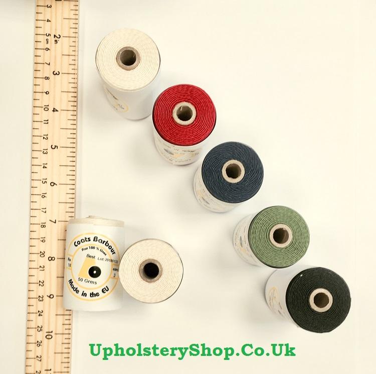 Waxed Linen Slipping Thread Cop Upholsteryshop Co Uk