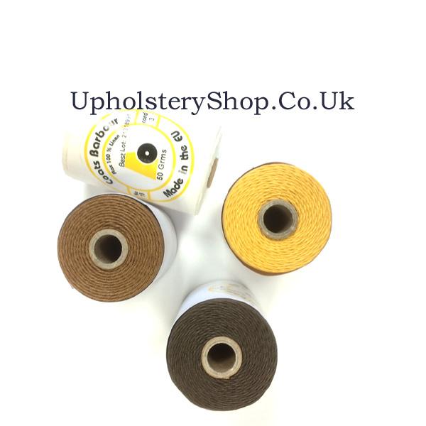 Barbour Linen Slipping Thread (50g Cop) - UpholsteryShop Co Uk