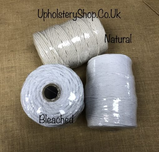 Bleached Piping Cord 6, 8, 12